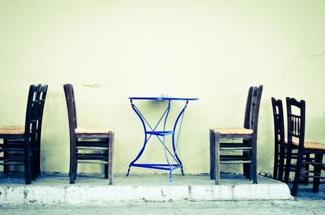 tables & chairs.