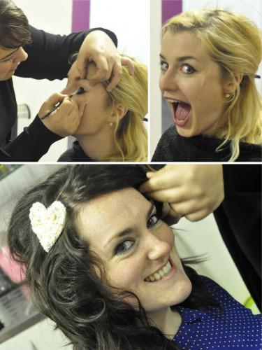 Hair & Make-Up Trial with Lovely Louise