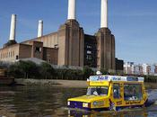 World's First Amphibious Ice-Cream Truck Sails Thames