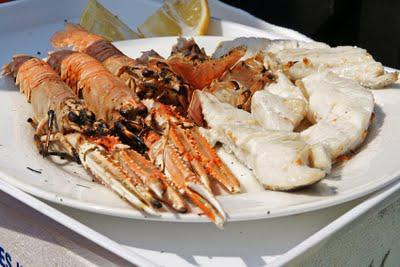 Langoustines on the Thames