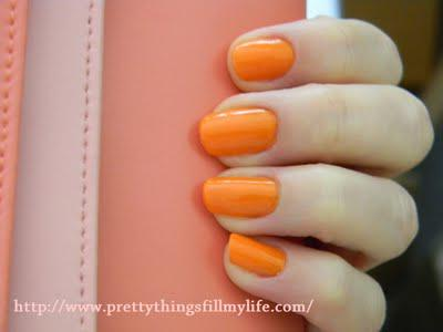 GIVENCHY Vernis Please Nail Polish in Acid Orange 175