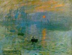 Claude Monet-Impression Sunrise