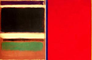 Rothko-Newman - side by side