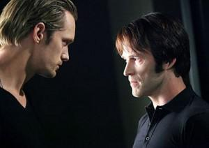 True Blood's Eric Northman and Bill Compton square off