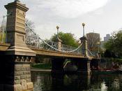 Pedestrian Bridge Boston's Public Garden