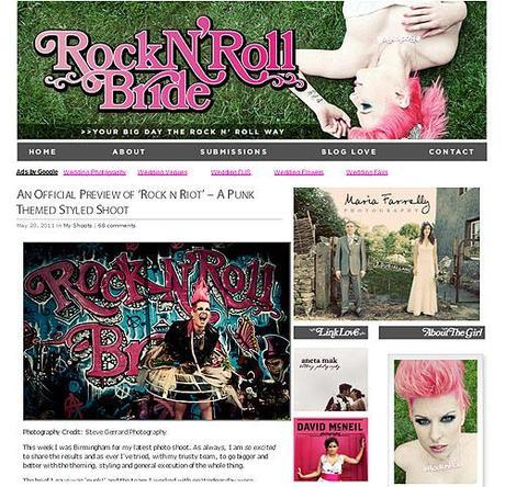 Rock n Roll Bride top UK wedding blog