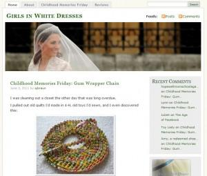 Indiana Blogs: Girls in White Dresses