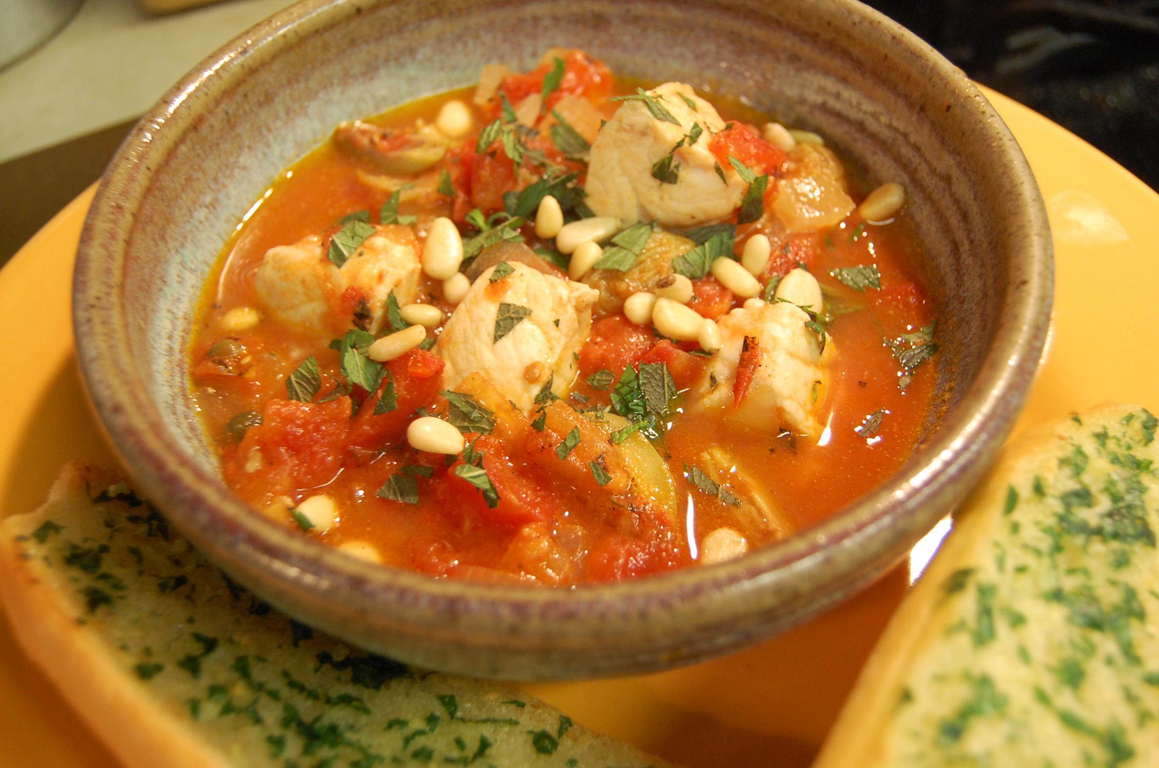 French fish soup for French fish stew