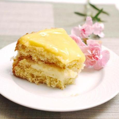 Lemon Curd, Pastry Cream Cake