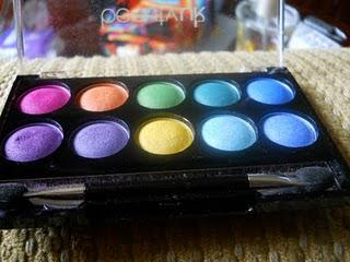BeautyUK Soho Bright EyeShadow Collection