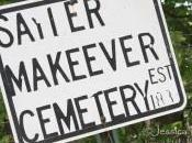 Down Gravel Road: Sayler Makeever Cemetery Rensselaer, Indiana