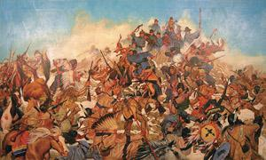 WOUNDED KNEE, part I:  The closing frontier.