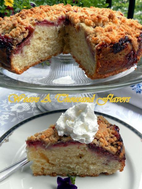 Strawberry Crumb Cake- 02