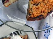 Strawberry Battle' Kick with Summery Crumble Cake