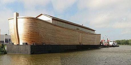 Gigantic Noah's Ark Replica Aims For London Olympics