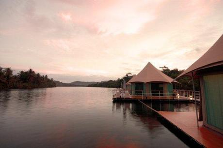 Room with a view: 4 Rivers Floating Lodge