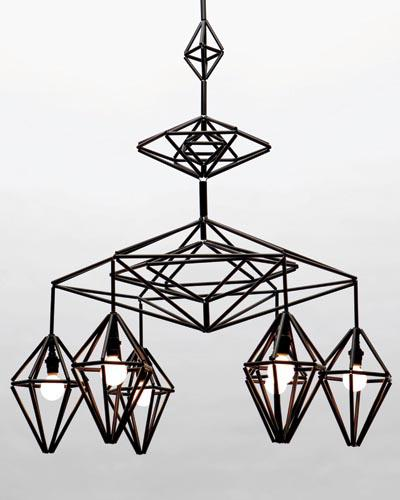 modern mobile chandelier by paul loebach