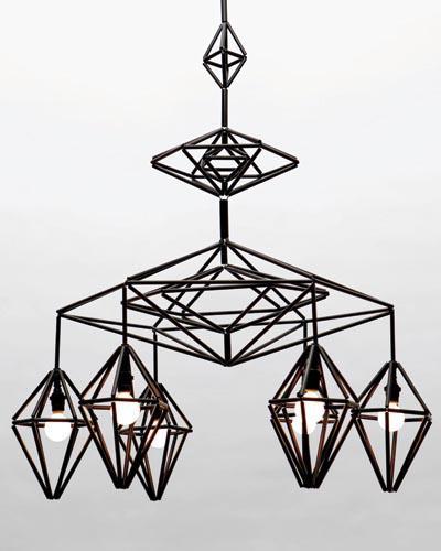 modern mobile chandelier by paul loebach