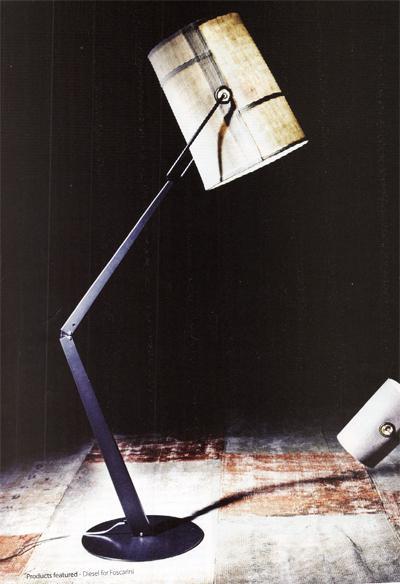 Fork Floor Lamp by Foscarini with Diesel