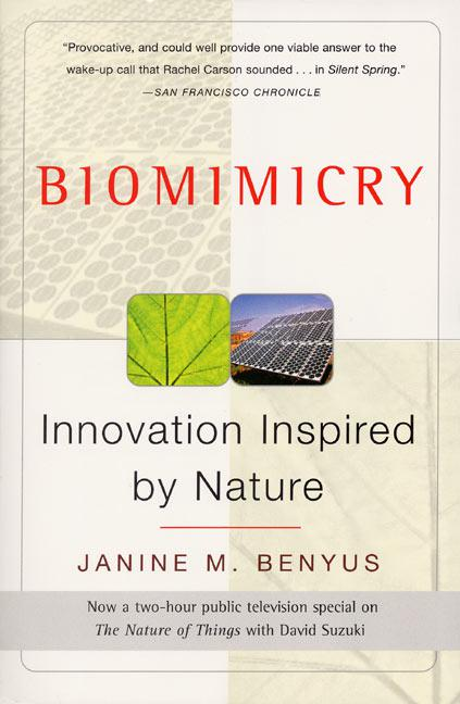 Book cover of Biomimicry