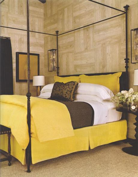 LUXE Magazine October Metal Bed