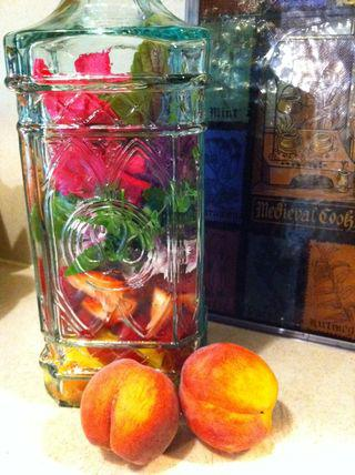 Peaches and herbs