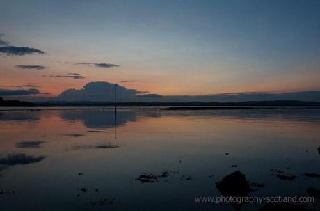 Photo - sunset at Crammond on the Forth Estuary