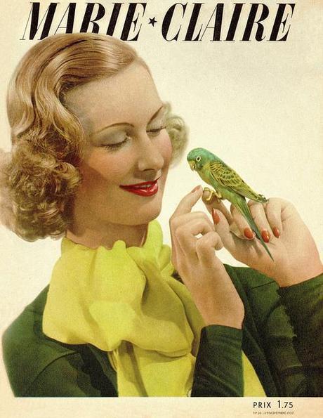 Vintage Magazine -  Marie claire Collection