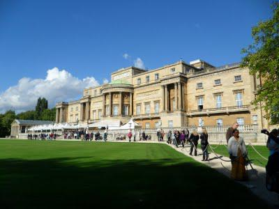 In and out of Buckingham Palace