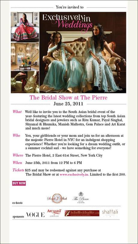 Exclusively.In Weddings- The Bridal Show