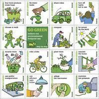 U.S. Postal Service introduces 'Go Green' Stamps