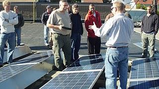 Absolute Green Energy Corporation Installs Two distinct Solar System designs at our Worcester MA Corporate Headquarters