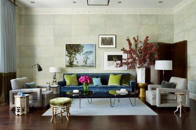 Eclectic Livingroom Inspiration ♥