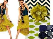 Color Inspiration- Chartreuse Navy