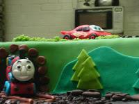 Thomas the tank engine VS Lighting Mcqueen!