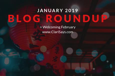 January 2019 Blog Roundup + Welcoming February
