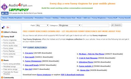 13 Best Free Ringtone Download Sites Paperblog