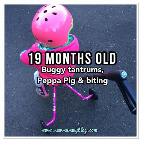 19 months old – buggy tantrums, Peppa Pig & biting!l
