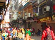Delhi, India: Chandni Chowk, Rickshaws Paharganj...