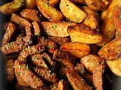 Garlic Steak Bites Potatoes