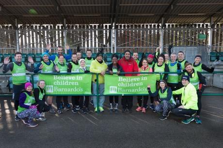 Celebrity runners join Team Barnardo's for London Marathon training day #London #londonmarathon