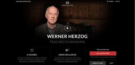 Werner Herzog Masterclass Review 2019 | Is This Class Even Worth Buying?