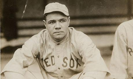 Image: Babe Ruth by Bain, 1919, by George Grantham Bain/Heritage Auctions on Wikimedia {PD-US-expired}