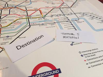 Half Term On The Way – Make Your Own London Board Game