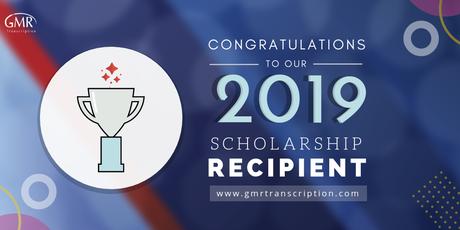 Announcing GMR Transcription Scholarship Winner: Rae Wynter