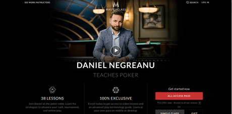 Daniel Negreanu Masterclass Review 2019 |  | Can You Be A Pro Poker Player?