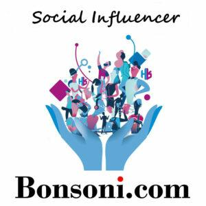 Bonsoni social influencer programme. Lets work together!