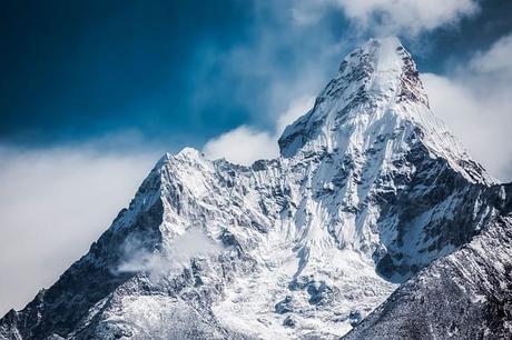 Himalaya mountain peak