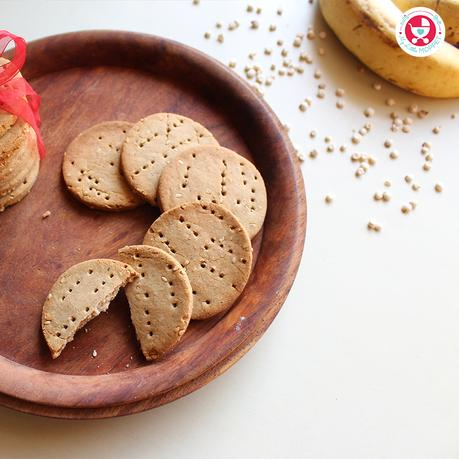 Jowar / Sorghum Teething Biscuit Recipe is a gluten-free, vegan recipe suitable for 8 months+ age babies. These biscuits are tasty & healthy as well.
