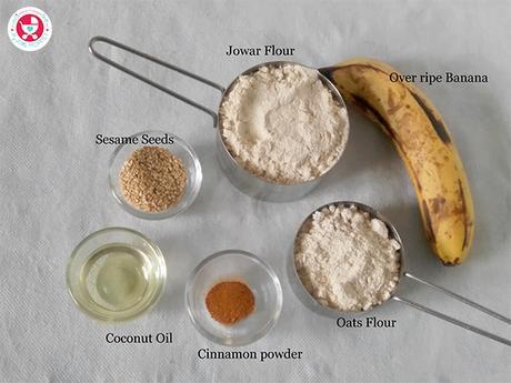 Jowar / Sorghum Teething Biscuit Recipe